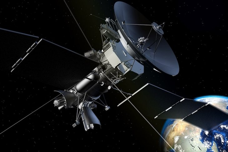 Satelit Nusantara Satu orbit di atas Papua