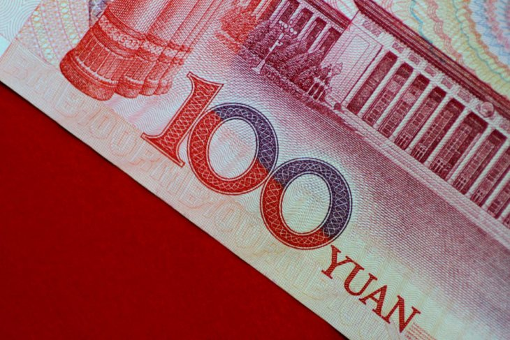 Yuan China melemah dua basis poin jadi 6,8942 terhadap dolar AS