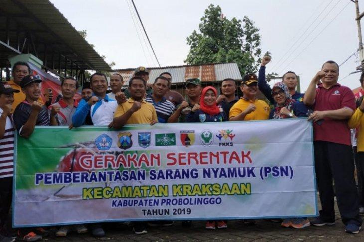 Pencanangan Gerakan Serentak PSN 3M Plus di Kabupaten Probolinggo