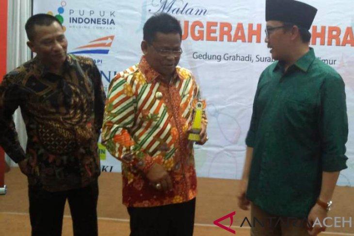 Wali Kota Banda Aceh raih penghargaan olahraga PWI