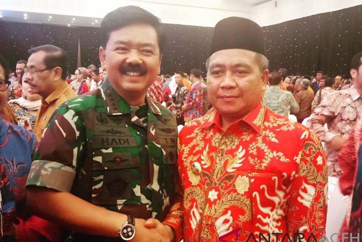 Bupati Ramli ajak Panglima TNI berkunjung ke Aceh Barat