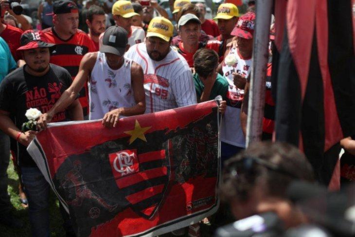 Klub Flamengo Brasil berduka, sepuluh pemain muda tewas terbakar di asrama
