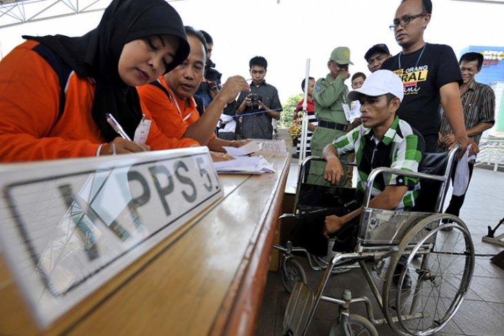 KPU siapkan petugas khusus dampingi pemilih disabilitas