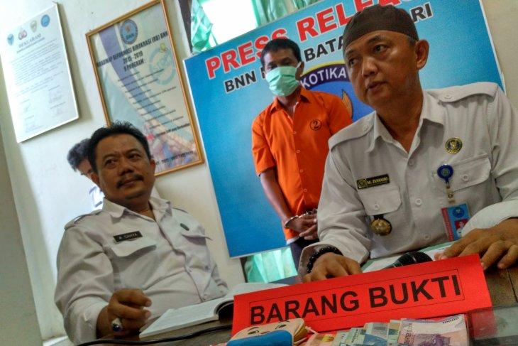 BNNK Batanghari tangkap pengedar sabu di Kecamatan Mersam