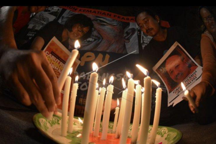 Jurnalis Bali peringati 10 tahun kematian Prabangsa