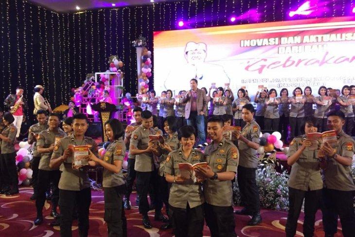 Kapolda Bali luncurkan buku inovasi untuk inspirasi milenial