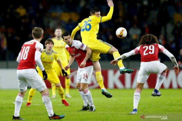 Liga Europa: Inter, Sevilla dan Benfica menangi laga, Arsenal takluk 0-1 dari BATE