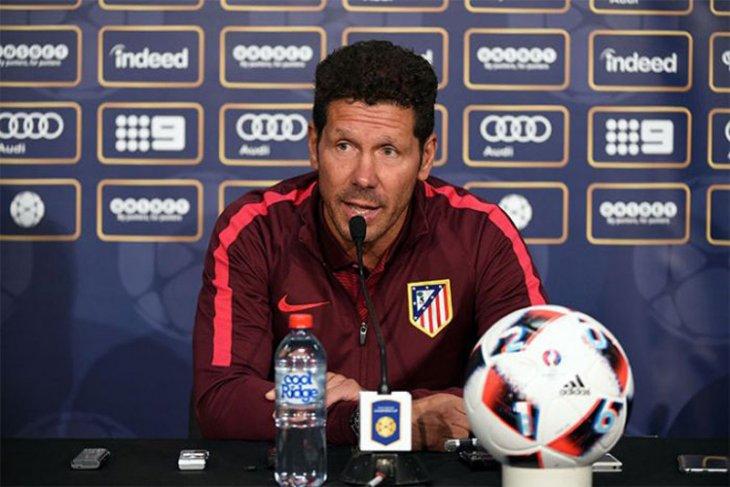 Bos Atletico Madrid optimistis tapi realistis dengan kekuatan pasukan