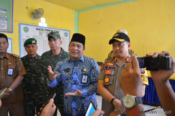 Pasca bentrok di Padangsidimpuan warga berdamai
