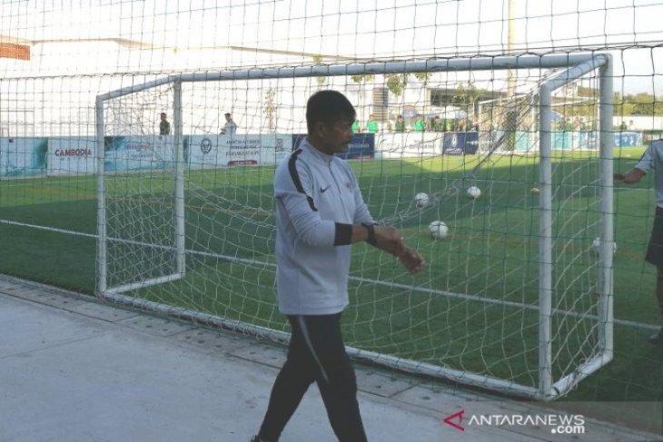Indra Sjafri isyaratkan lakukan rotasi pemain hadapi Malaysia