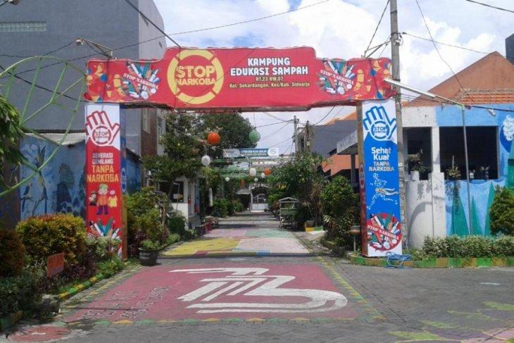 Kampung Edukasi Sampah Sidoarjo Rintis Wilayah Bebas Narkoba