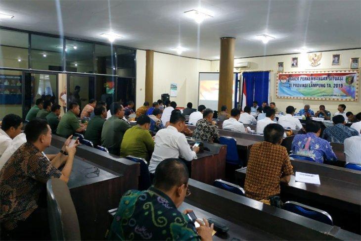 Kesbangpol dan Kemhan Lampung Antisipasi Ancaman Jelang Pemilu 2019