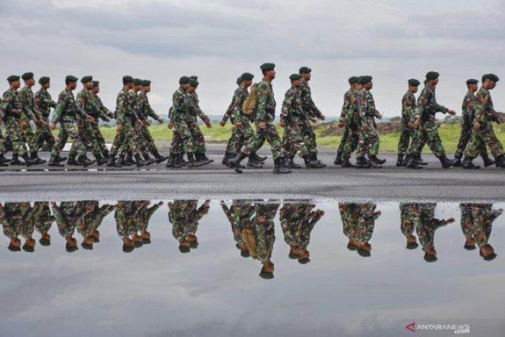 TNI bantu rehabilitasi pascagempa Lombok