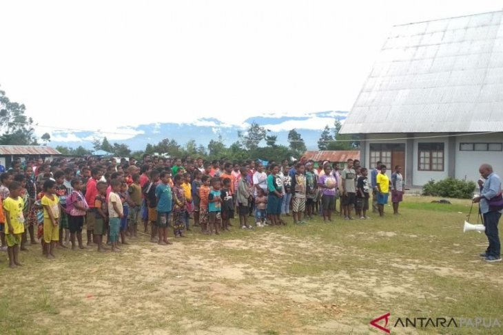 Bantuan untuk pengungsi Nduga segera tuntas didistribusikan