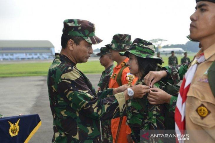 Pangkalan Udara TNI AU Halim Perdanakusuma gelar latihan Survival Dasar 2019