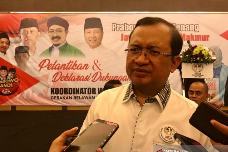 IPW sebut Sandiaga jadi menteri kabinet kerja Jokowi, BPN: Hoaks