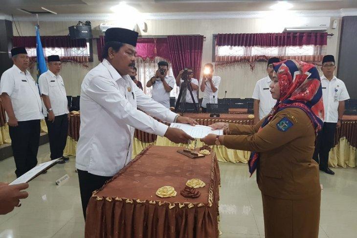 Wakil Wali Kota Sibolga lantik Plt Kadis PU-PR