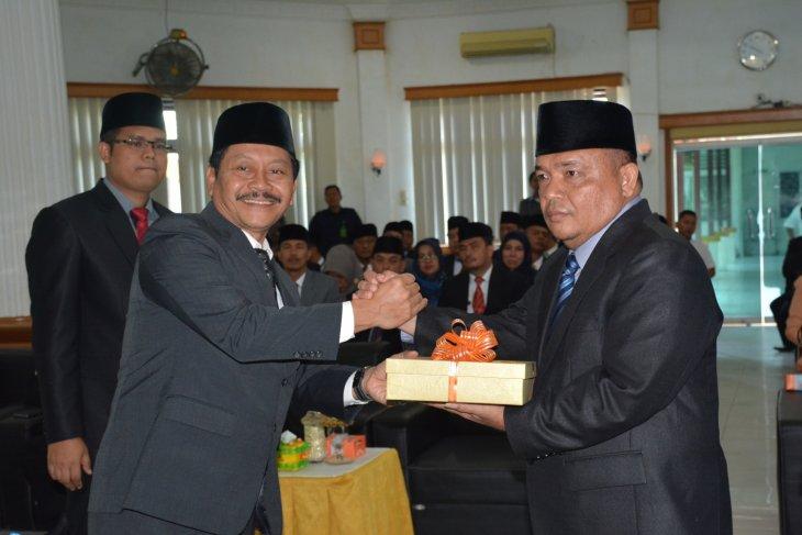 Sekda wakili mantan Bupati serah terima jabatan Bupati Langkat