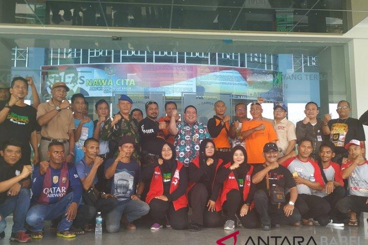 Gubernur Babel lepas tim peduli tsunami Lampung