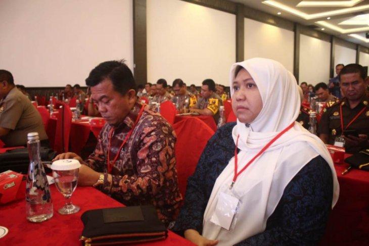 Bupati Masnah hadiri rakornas pemantapan Pemilu 2019
