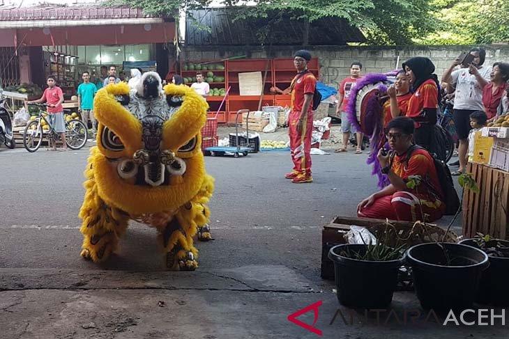 Ribuan warga Tionghoa di Aceh rayakan Imlek