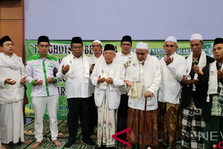 Ma`ruf Amin vows to make Indonesia greater