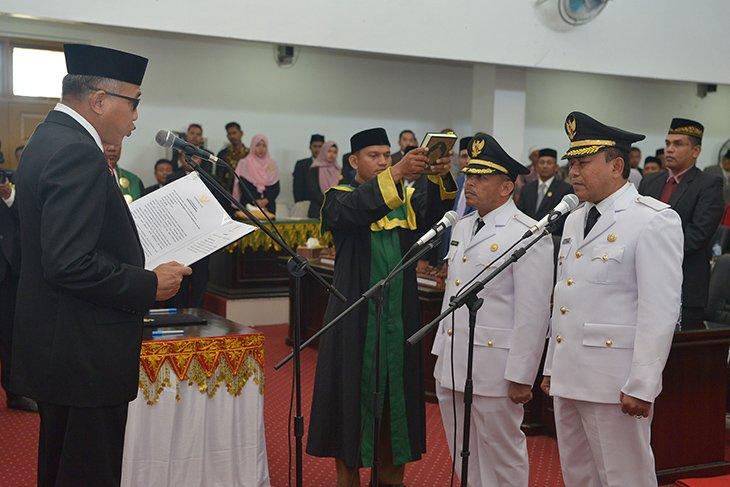 Gubernur Aceh minta bupati Pidie Jaya kembangkan sektor pertanian