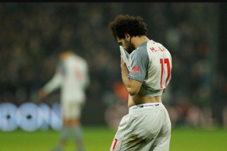 Ditahan imbang West Ham 1-1, Liverpool terpaut 3 poin dari City