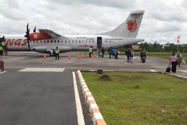 Kabut asap ganggu penerbangan di Bandara Pangsuma Kapuas Hulu