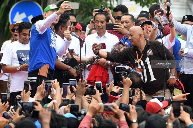 Forum Alumbi Jatim Dukung Jokowi