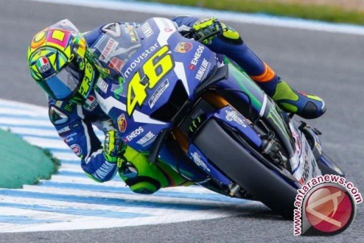 Berhasil perbaiki catatan waktu, Rossi puas dengan progres Yamaha di Qatar