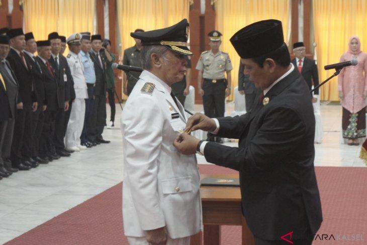 Ahmad Chairansyah dilantik jadi bupati HST