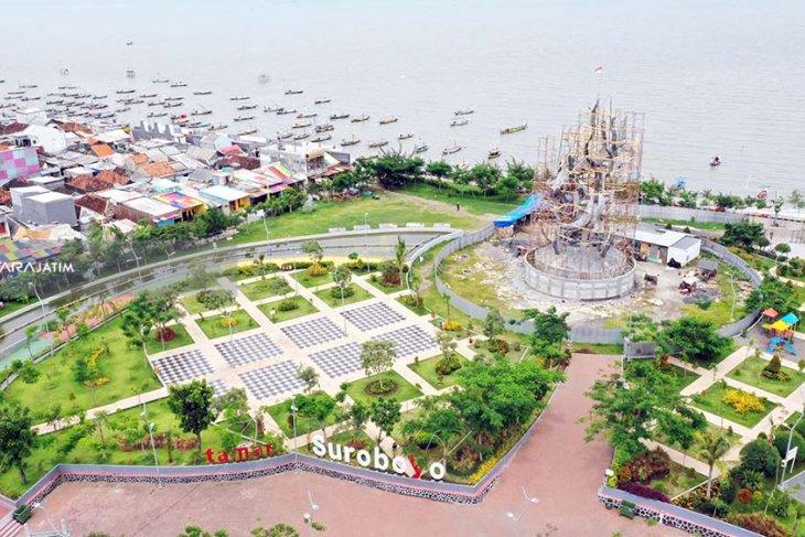 Pembangunan kereta gantung di kawasan kenjeran Surabaya ditargetkan selesai mei