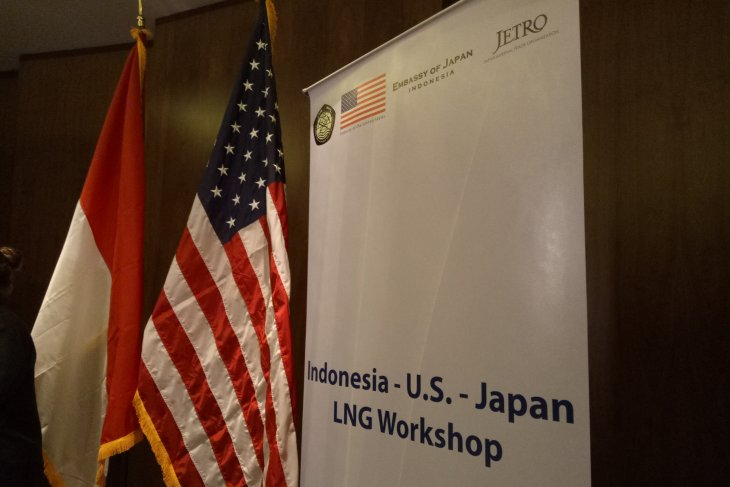 Indonesia explores cooperation with US,Japan in LNG business