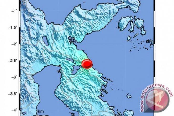 5.0 magnitude earthquake jolts East Luwu