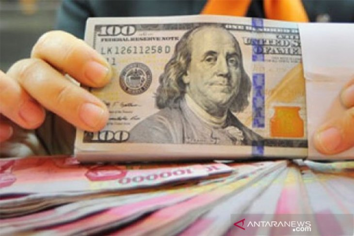 Rupiah falls again on Wednesday evening to Rp14,143 per dollar