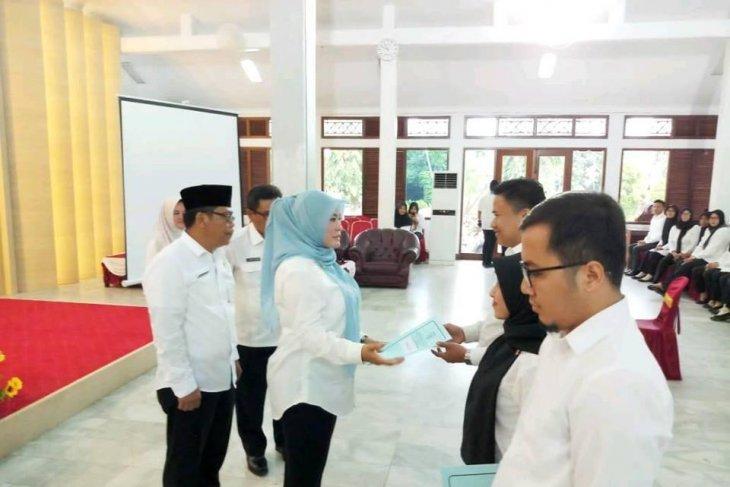 292 CPNS Pandeglang terima surat keputusan