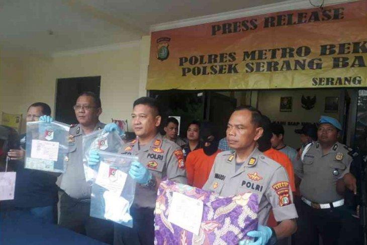 Tragis, suami bunuh istri di Bekasi