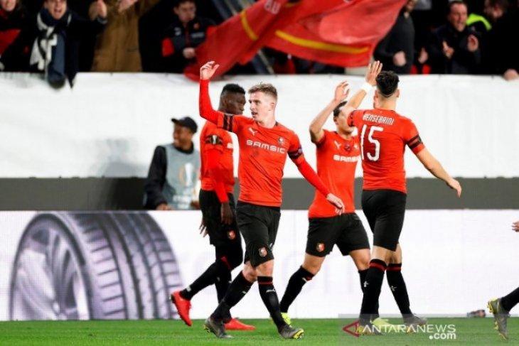 Liga Europa: Rennes hantam Arsenal 3-1