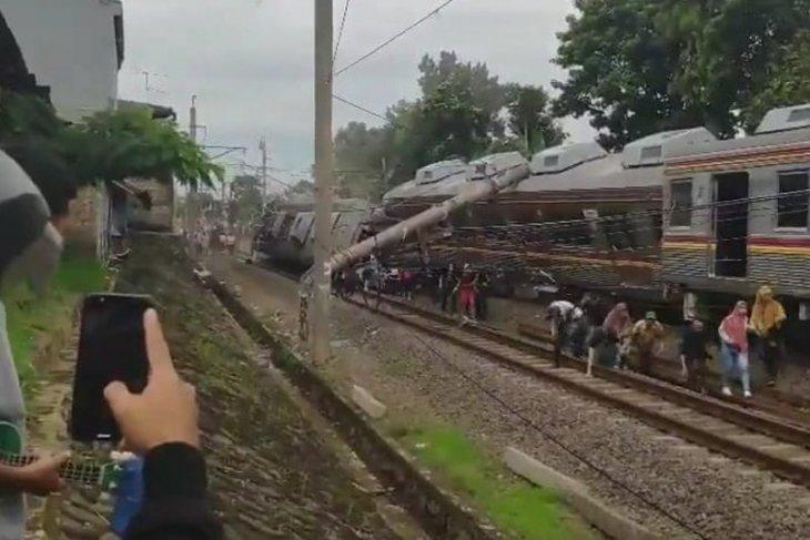 Tidak ada korban jiwa akibat KRL Jakarta-Bogor anjlok