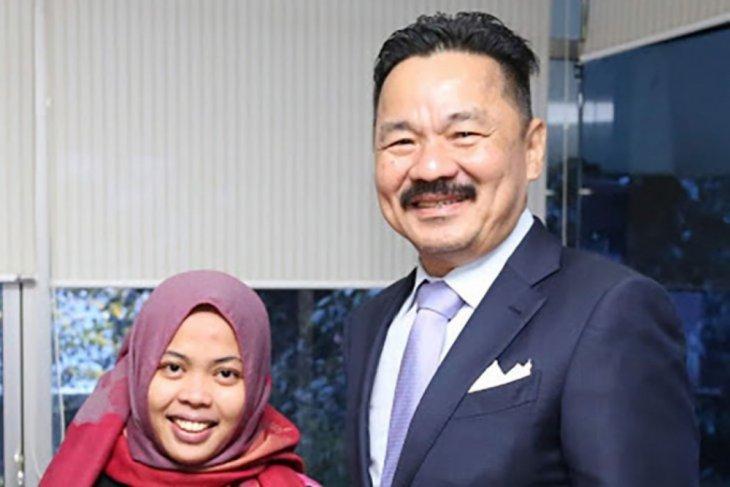 Dubes Rusdi Kirana sambut Siti Aisyah