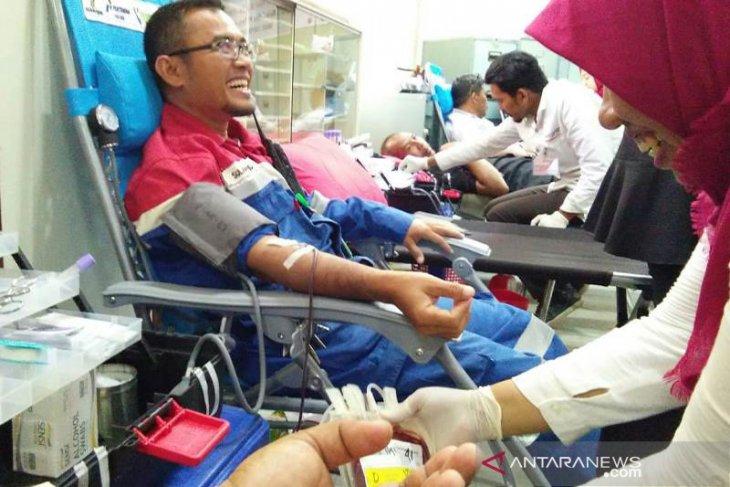Bantu cukupi kebutuhan darah PT PAG gelar donor