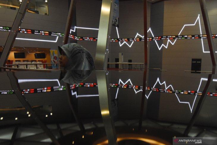 IHSG ditutup melemah seiring turunnya bursa  saham Asia
