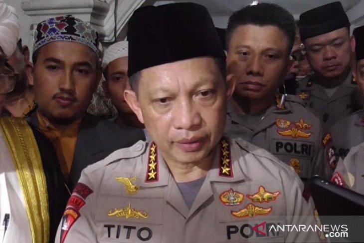 Kapolri: Pelaku bom Sibolga Soimah percaya  bom bunuh diri cara cepat menuju surga