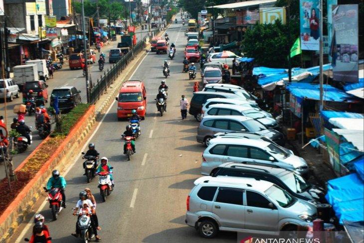Target retribusi parkir Bekasi meningkat 400 persen