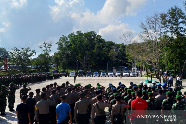 1.600 TNI - Polri amankan kunjungan Presiden Jokowi