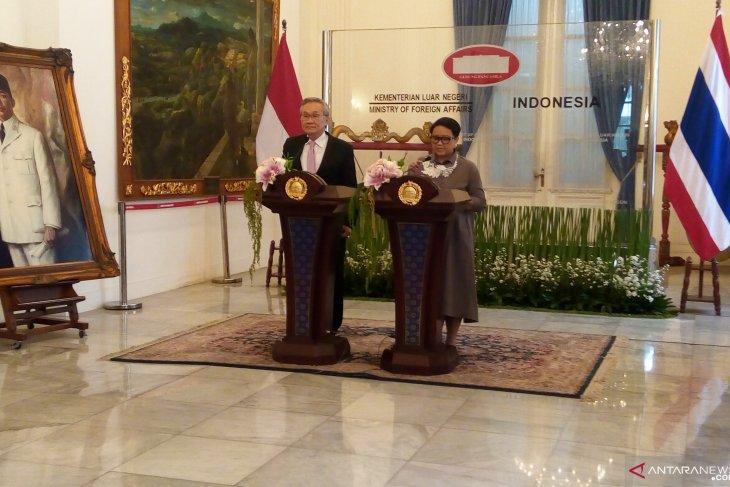 Indonesia-Thailand dorong pengembangan konsep Indo-Pasifik ASEAN