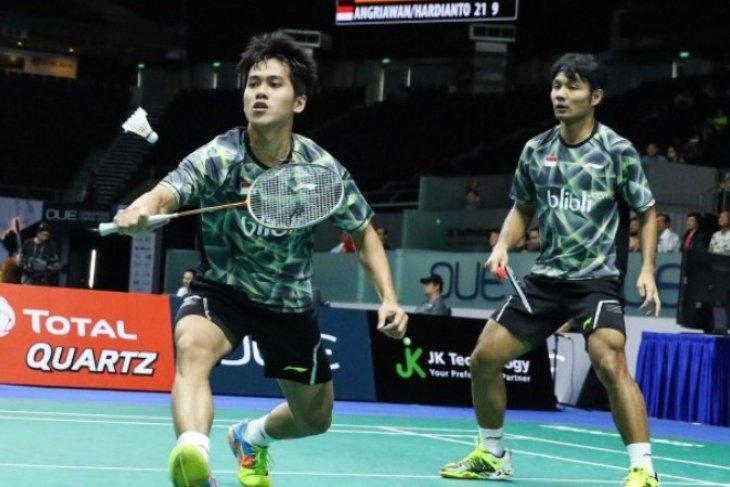 Dua ganda Indonesia bertemu di babak awal Swiss terbuka