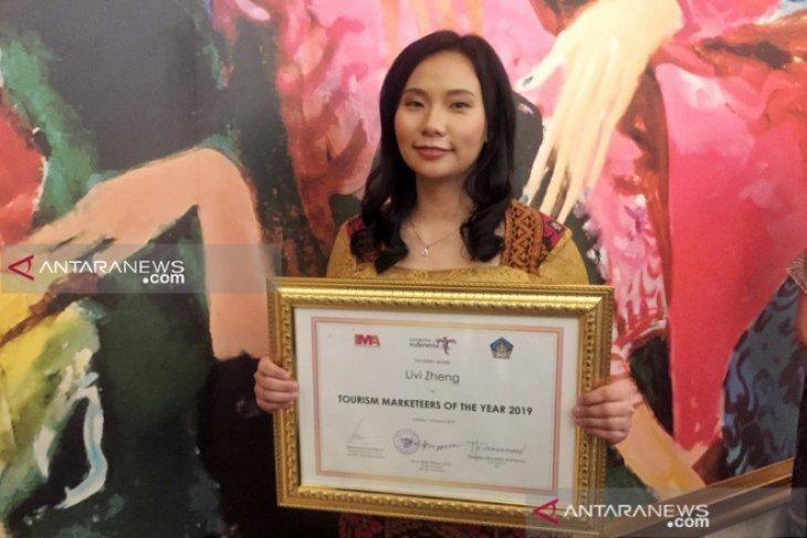 Livi Zheng sabet penghargaan berkat