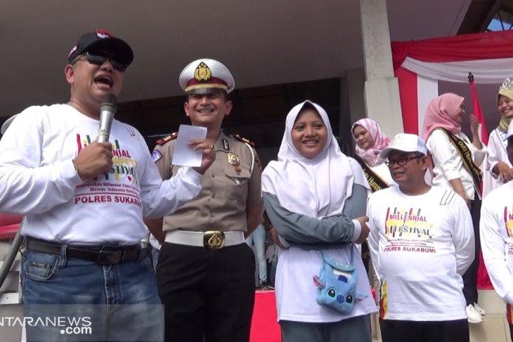 Kapolres Sukabumi instruksikan tidak razia ortu antar anak ke sekolah